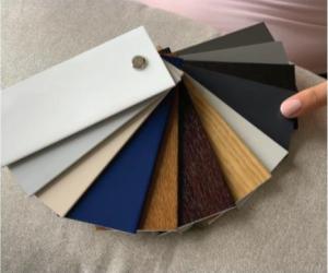 nuancier de couleur PVC