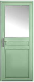 porte traditionnel Chambly aluminium