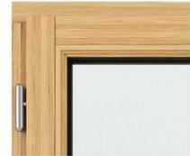 Angle fenetre bois traditionnel