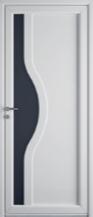 Porte contemporaine PVC