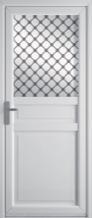 Porte traditionnelle PVC
