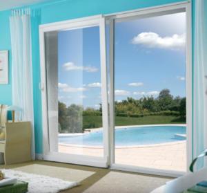 baie vitrée décor